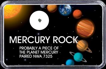 Merkur Meteorit NWA 7325 (Motiv: Sonnensystem Planeten IV)