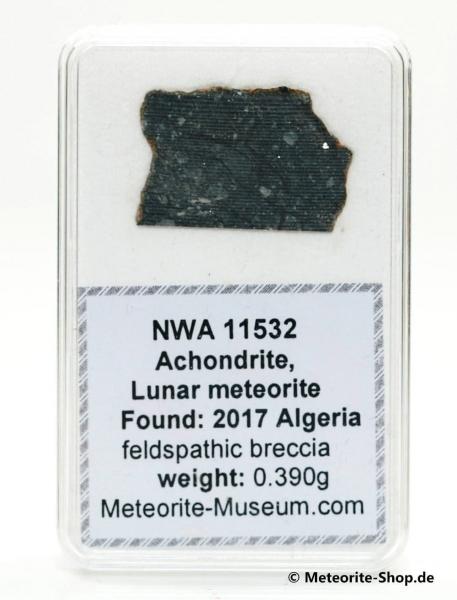 NWA 11532 Mond Meteorit - 0,390 g