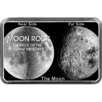 Echtes Mondgestein von unserem Erdtrabanten in Motiv-Dosen zum Sammeln und Verschenken