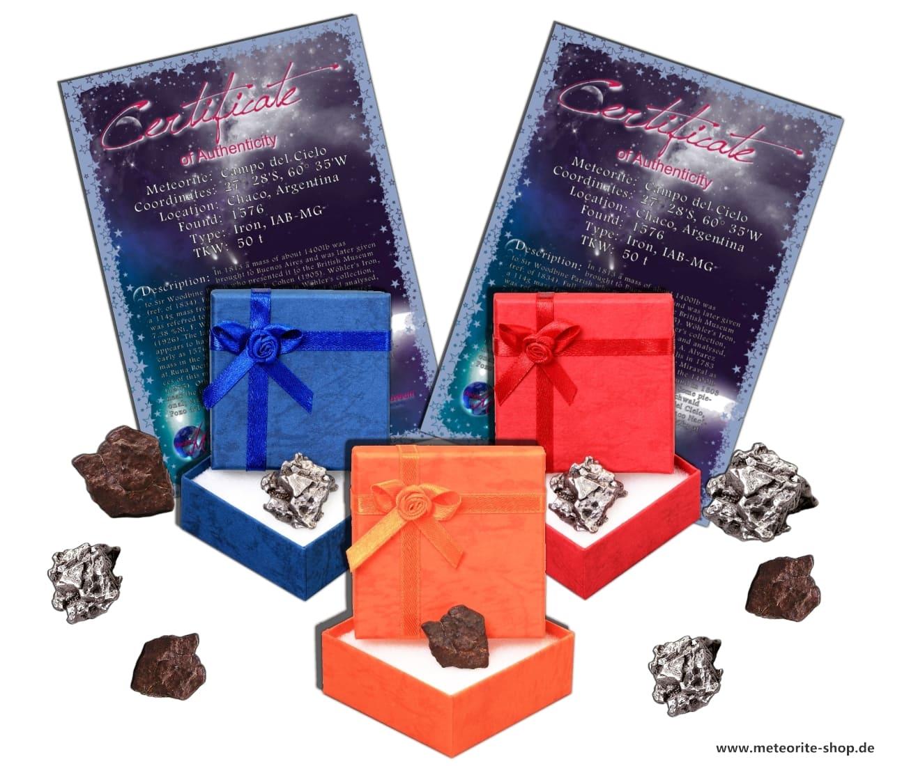 Sternschnuppe als Geschenk zum Geburtstag