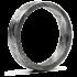 Kategorie Eisen-Meteorit Ringe (Muonionalusta | Unisex | Rhodiniert)