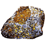 Stein-Eisen-Meteorit vom Typ Pallasit