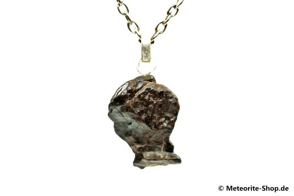 Stein-Meteorit-Anhänger (NWA 4293 | Natura | 925er Silber) - 4,60 g