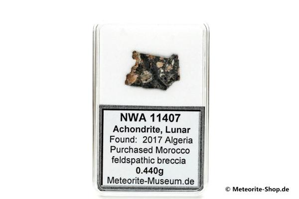 NWA 11407 Mond Meteorit - 0,440 g