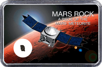 Mars Meteorit NWA 10628 (Motiv: Raumsonde ExoMars in Mars Atmosphäre)
