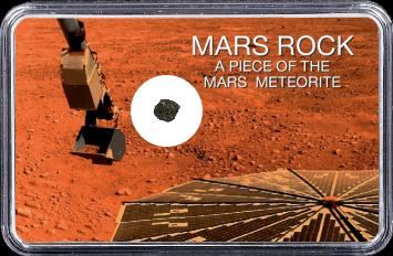 Mars Meteorit NWA 4925 (Motiv: Mars Bodenprobe Entnahme)