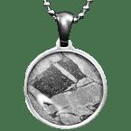 Stein-Eisen-Meteorit-Anhänger (Seymchan | Scheibe)