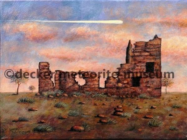 Harvey H. Nininger Meteoriten-Museum (1942-1953) Gemälde