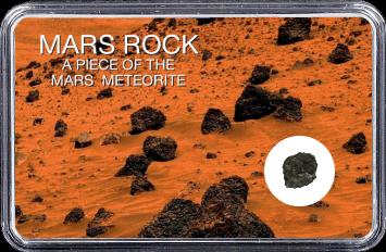 Mars Meteorit Ouargla 003 (Motiv: Marsgestein und Meteoriten Feld I)