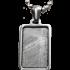 Kategorie Stein-Eisen-Meteorit-Anhänger (Seymchan | Rechteck)