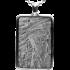 Kategorie Eisen-Meteorit-Anhänger (Muonionalusta | Rechteck)