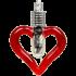 Kategorie Herz-Sternschnuppen-Anhänger