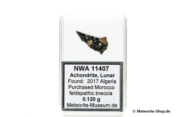 NWA 11407 Mond Meteorit - 0,120 g