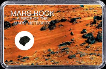 Mars Meteorit Ouargla 003 (Motiv: Marsgestein und Meteoriten Feld II)
