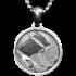 Kategorie Stein-Eisen-Meteorit-Anhänger (Seymchan | Scheibe)