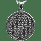 Eisen-Meteorit-Anhänger (Campo del Cielo | Carved Amulett)