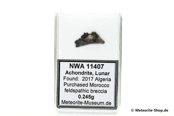 NWA 11407 Mond Meteorit - 0,245 g